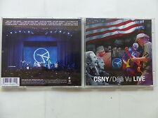 CD Album CROSBY STILLS NASH YOUNG  Déja vu Live csny 9362 49839 1