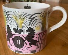 ERIC RAVILIOUS WEDGWOOD QUEEN ELIZABETH II 1953 CORONATION MUG CUP