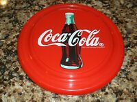 Coca Cola Flying Disk Red Plastic Frisbee Coke Classic 1998 Frisbee's Soda Disc