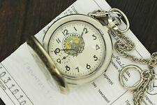 Vintage Military Molnija Pocket Watch 50mm Kiev Archangel Michael New Watch