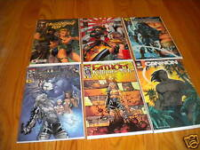 Top Cow Cliffhanger Wizard Lot of 6 Danger Girl Turner
