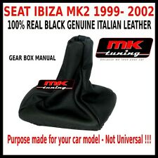 SEAT IBIZA MK2 99-02 GEAR SHIFT GAITER LEATHER QUALITY