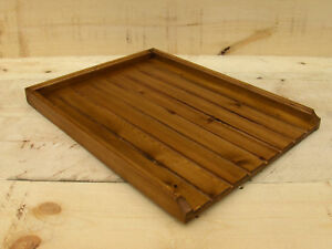 LARGE draining board belfast/butler sink drainer medium finish
