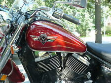 Kawasaki Vulcan 500 750 800 900 1500 new CHROME TANK TRIM