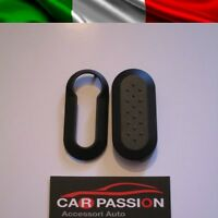 COVER CHIAVE GUSCIO NERO FIAT 500 PUNTO EVO BRAVO PANDA 500L BLACK KEY SHELL