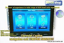 !!!REPAIR SERVICE!!! Chevrolet Captiva A-Navi/Board computer 95270148, 95925322