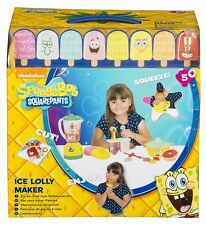 Spongebob Square Pants Ice Lolly Maker Summer Holiday Craft Fun By Sambro New