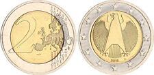 Pièce de monnaie 2010 A, RFA Fehlpraegung, faux Comprimés pas magnétique vz-st