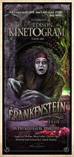 Edison's Frankenstein 1910 movie poster Classic Horror by Scott Jackson