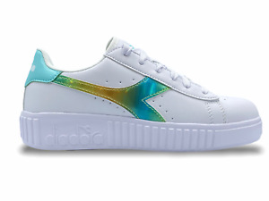 DIADORA GAME STEP RAINBOW Damen Turnschuhe Sneakers Women Shoes