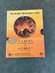The Mummy Deluxe Collectors Pack DVD box set