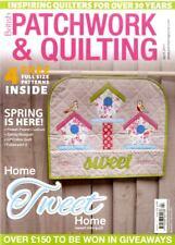 Patchwork & Quilting revista #279 - Cojín Flower Power, ramo de primavera