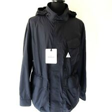 J-3657268 New Moncler Seran Black Hooded Windbreaker Jacket Coat Size XL Mark 5