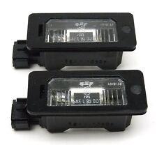 BMW E39 E46 E60 E61 E90 E91 E92 E93 X5 X6-Number Plate Lights Lampes Set-Paire