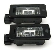 BMW E39 E46 E60 E61 E90 E91 E92 E93 X5 X6 - Number Plate Lights Lamps SET - PAIR