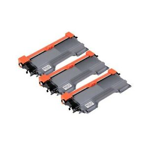 3x TN-2250 TN2250 toner cartridge for Brother MFC-7360N MFC-7362N MFC-7460N