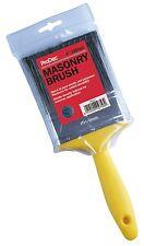 "ProDec 4"" Inch / 100mm Masonary Brush Painters Plasterers Paint Brush (PR4GY)"