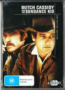 BUTCH CASSIDY AND THE SUNDANCE KID DVD=2 DISC DEFINITIVE EDITION FREE POST (D2)