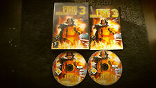 FIRE DEPARTMENT 3 PC CD-ROM V.G.C. FAST POST ( RTS strategy game & complete )