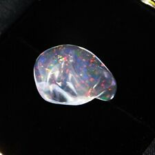 Large Natural Mexican Opal Precious Fire Opal Fiery Rainbow Jelly Volcanic