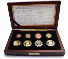 Belgien 3,88 Euro 2001 PP KMS 1 Cent bis 2 Euro König Albert im Etui