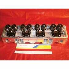 Edelbrock 60999 Cylinder Head SBC 64cc Head W47 Angle Plugs Complete