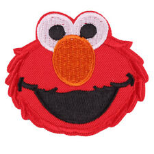 """The Sesame Street Elmo Embroidered Iron/Sew ON Patch Cloth Applique 2.7X2.5"""""""