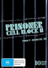 BRAND NEW SEALED Prisoner - Cell Block H : Volume 17 : Eps 513-552 DVD Set of 10