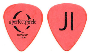 A Perfect Circle James Iha Orange Guitar Pick - 2004 Tour
