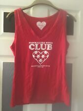 red footballers wives top standing out of crowd since 1966 T-Shirt ENGLAND L 14