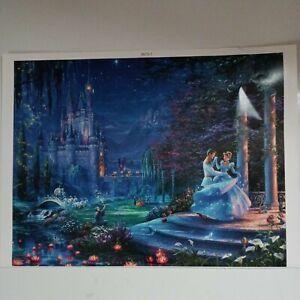 Thomas Kinkade Cinderella 500 pc puzzle.