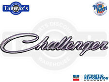 "70 "" Challenger "" Front Fender Emblem Script each Made in the USA"