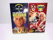 WCW VHS RIC FLAIR THE NATURE BOY VADER VS FLAIR STARCADE WRESTLING VIDEO