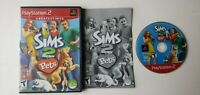 Sims 2: Pets PlayStation 2 PS2 - Complete Game w/ Manual CIB Near Mint Disc
