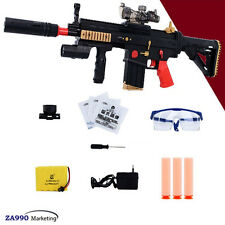 Electric Assault Rifle Toy Gun Shooting Soft Bullets Crystal Water Gift Kids