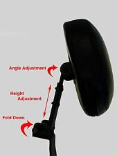 Studded Fully Adjustable Driver's Backrest - Kawasaki Vulcan 1500 Classic Nomad