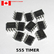 NE555P NE555 DIP-8 SINGLE BIPOLAR Precision TIMER IC. 10pcs