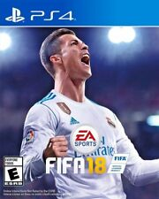NEW FIFA 18 2018 For The Sony PlayStation 4 PS4 Pro 4K HDR Football Soccer Game