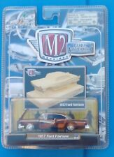 1957 Ford Fairlane M2 Machines Clearly Auto-thentics 1:64 Die-cast