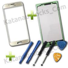 Cristal de pantalla Samsung Galaxy S6 SM-G920 G920f con Herramientas Dorado