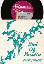 Snowy White ORIG OZ PS 45 Bird of paradise NM '83 Blues Rock Thin Lizzy