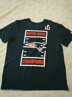 Vintage Nike New England Patriots Superbowl Shirt