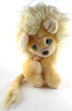 Applause LEON LION 1985 Precious Moments Plush 11in Stuffed Animal w/ Locket