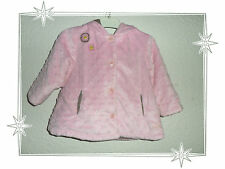 Manteau Blouson Rose Marron Pomme Framboise by Orchestra Taille 12 Mois