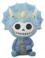 New Furrybones Furry Bones Spike Skull Skeleton Dinosaur Figurine Gift 9026