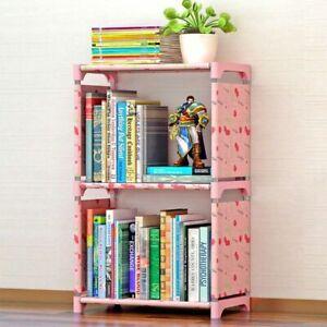 Bookshelf Storage Shelve Kids Books Children book Rack Bookcase Home Furniture