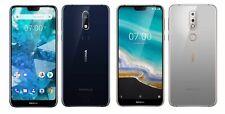 Nokia 7.1 2018 32GB Edelstahl Dual-SIM Android 8 Smartphone mit Zeiss-Kamera