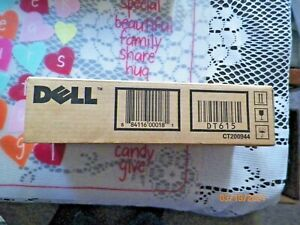 Dell 1320c Printer dt615 black toner Cartridge and bonus cyan ku051 cartridge