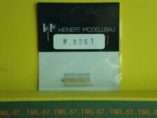 Détaillage WEINERT HO Laiton porte lanterne ou disque de signalisation ref 8261