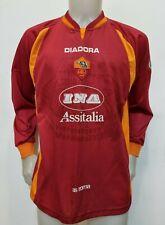 MAGLIA CALCIO SHIRT ROMA 1997/1998 TAG.L FOOTBALL ITALY SOCCER MAILLOT HOME IT91